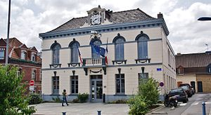 Beuvry - The town hall of Beuvry