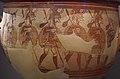 02 2020 Grecia photo Paolo Villa FO190060 (Museo archeologico di Atene) Cratere dei guerrieri dipinto con soldati NAMA 1426, Acropoli di Micene. XII secolo a.C., senza gimp.jpg