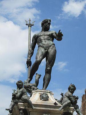 Maserati - Piazza Maggiore's Neptune and his trident