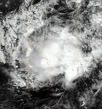 2009 North Indian Ocean cyclone season - Image: 05BWARD.30kts 1000mb 88N 813E.98pc