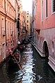 0 Venise, gondoliers sur le Rio di San Salavador (3).JPG