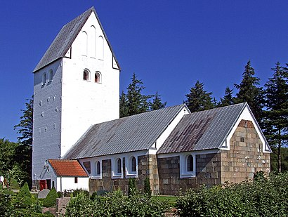 How to get to Hjardemaal Kirke with public transit - About the place