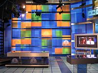 an inside look of CNBC NJ HQ