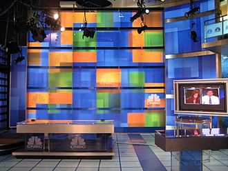 Street Signs (TV program) - The former set of Street Signs (2006-2010-04)