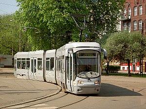 Silesian Interurbans - Alstom-Konstal 116Nd tram in Bytom