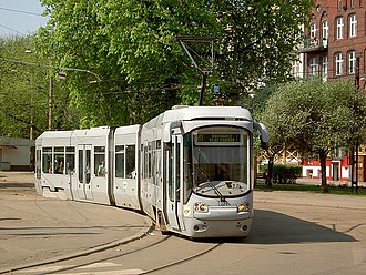 Silesian Interurbans - Alstom-Konstal 116Nd tram in Bytom
