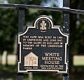 120925f 0537 Old White Meeting House Ruins and Cemetery Gate Credit Sign.jpg
