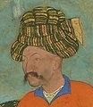 12 Abu'l Hasan Jahangir Welcoming Shah 'Abbas, ca. 1618, Freer Gallery of Art, Washington DC (cropped).jpg