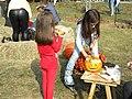 13. Bucharest, Romania. Pumpkin Fest. Primul Festival de Halloween din Romania. Oct. 2019 (O mica artista)).jpg
