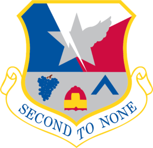 136th Civil Engineer Squadron - 136th Airlift Wing emblem