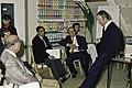 14 Novembre 1991 le président de l'UNESCO à l'INRA de Versailles-6-cliche Jean Weber.jpg