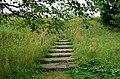 151. Кингисепп. Крепость Ям. Лестница на земляной вал.JPG
