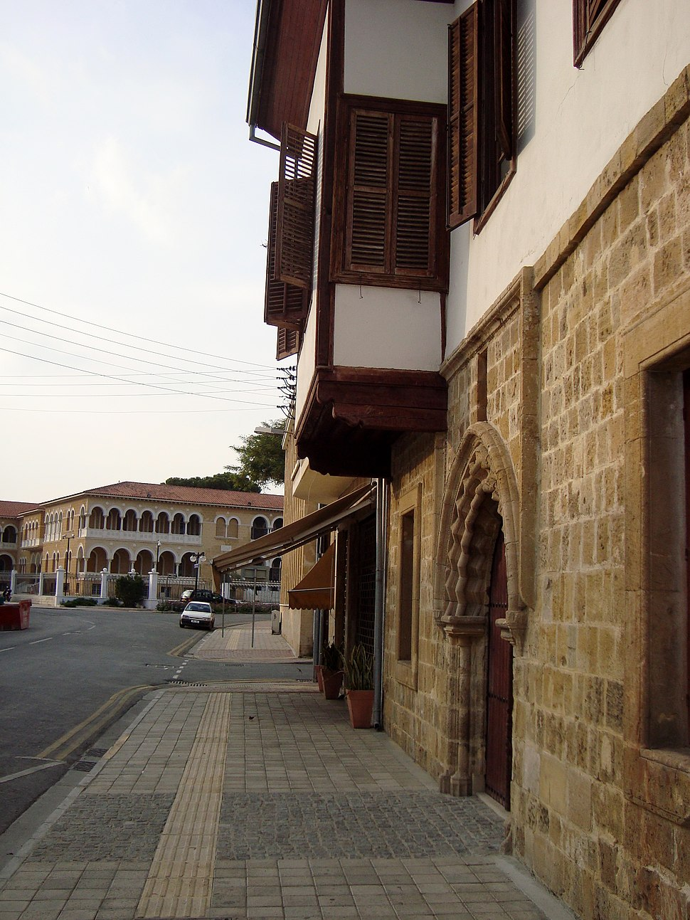 15th century house in Nicosia Cyprus