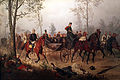 1877 Camphausen Otto von Bismarck geleitet Kaiser Napoleon III anagoria.JPG