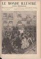 1878-11-09, Le Monde illustré, Madrid. Tentative d'assasinat contre le Roi Alphonse XII à sa rentrée à Madrid, Vierge.jpg
