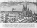 1885 Hotel Nord Cologne ad Harpers Handbook for Travellers in Europe.png