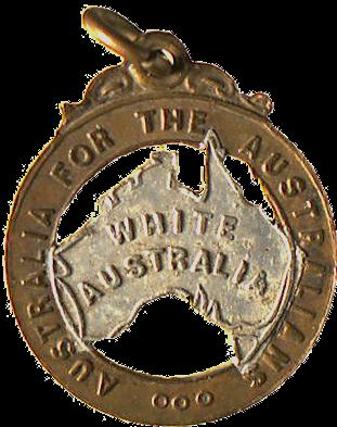 1910 White Australia badge