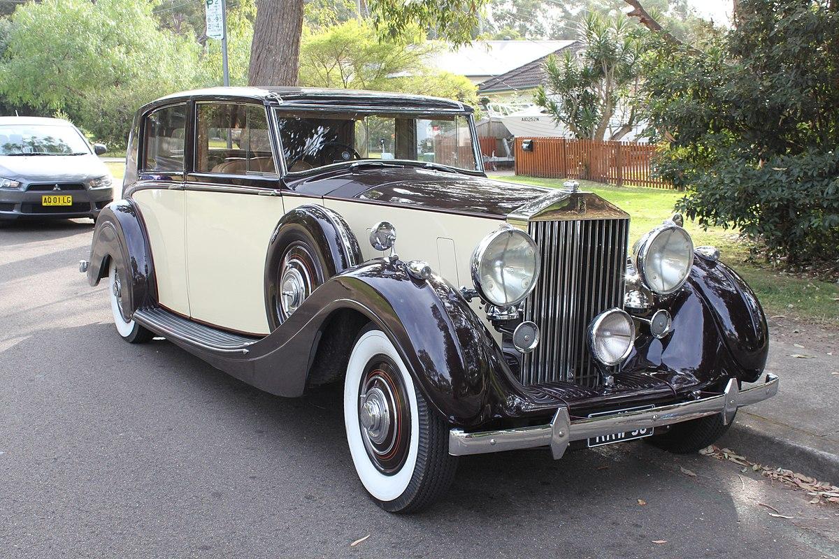 Rolls royce wraith 1938 wikipedia for Rolls royce motor cars