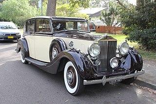 Rolls-Royce Wraith (1938) car model