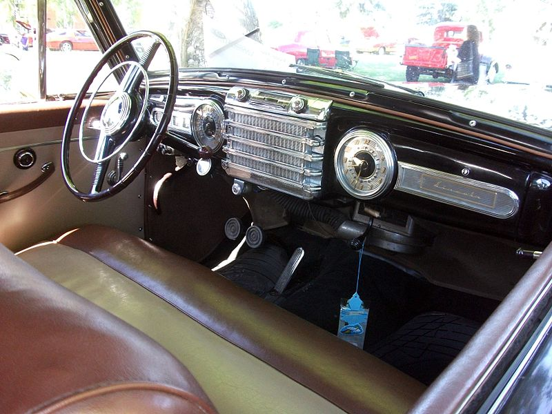 file 1948 lincoln continental mark ii v12 interior 5939596569 jpg wikimedia commons. Black Bedroom Furniture Sets. Home Design Ideas
