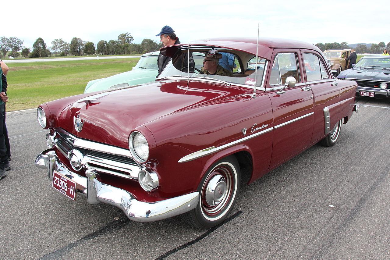 1952 ford customline v8 for 1952 ford customline 2 door