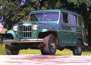 Willys Jeep Station Wagon Motor vehicle