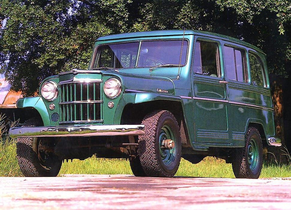 1962 Willys Jeep Utility Wagon