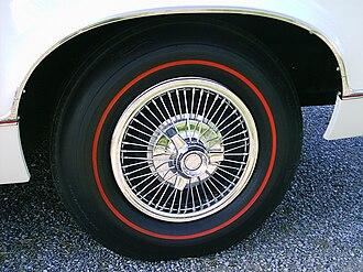 Spinner (wheel) - 1967 AMC wheel cover with spinner