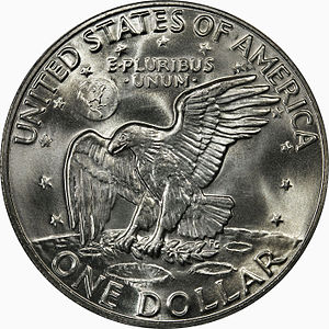 Susan B. Anthony dollar - The Eisenhower dollar was authorized by a bill signed into law on December 31, 1970.