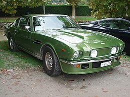 1978 Aston Martin V8 Vantage fliptail in Morges 2013 - Front right.jpg