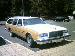 1980s Buick Electra Estate