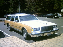 Una Buick Estate del 1982
