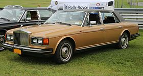 1982 Rolls-Royce Silver Spur US model, front left (Lime Rock).jpg