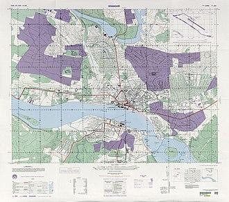 Timeline of Kisangani - Image: 1997 Kisangani map txu oclc 55793016