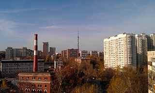 Alexeyevsky District, Moscow District in Federal city of Moscow, Russia