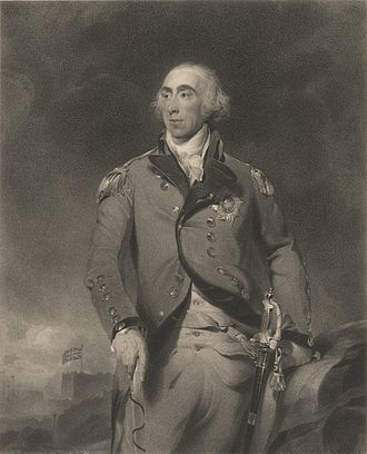 Grey's raid - Major General Charles Grey (portrait by Joseph Collyer)