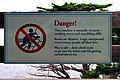 2006-08-15 - Road Trip - Day 23 - United States - California - Monterey - Sign - Danger Nature - 17- 4889456702.jpg