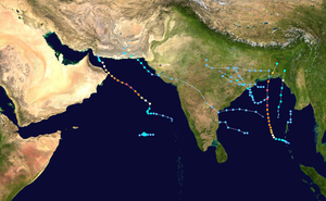 2007 North Indian Ocean cyclone season summary map.png