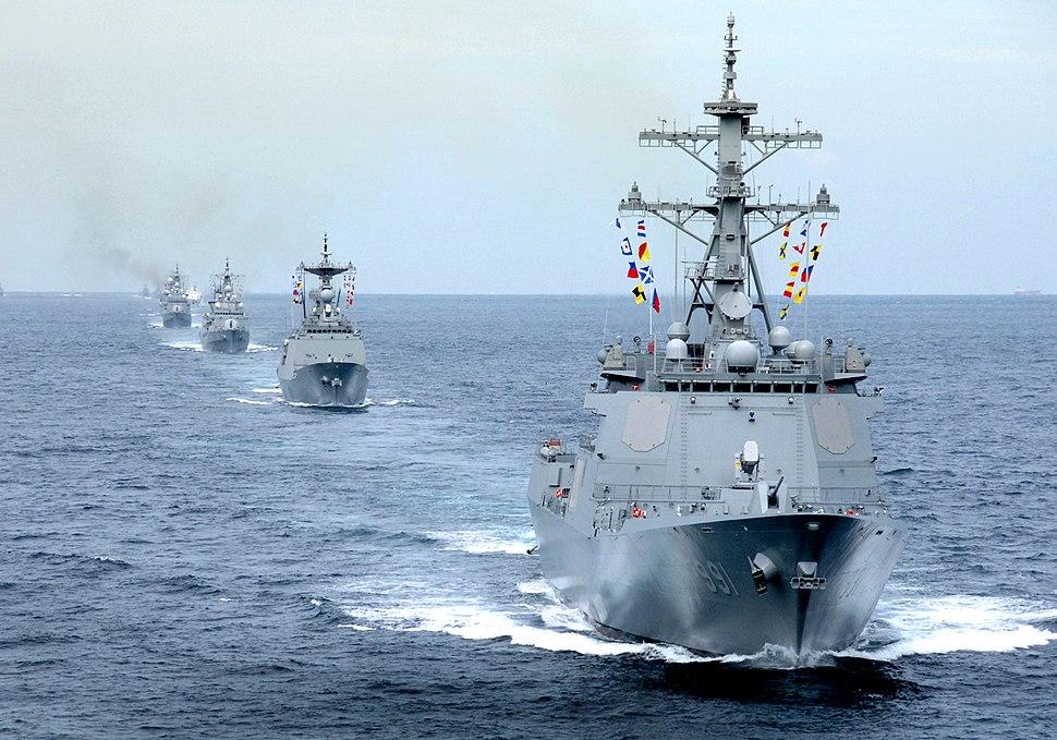 2008년9월27일 해군 세종대왕함기동(2) (7193823222)