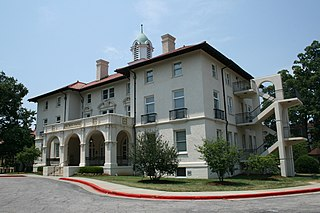 Watts Hospital United States historic place