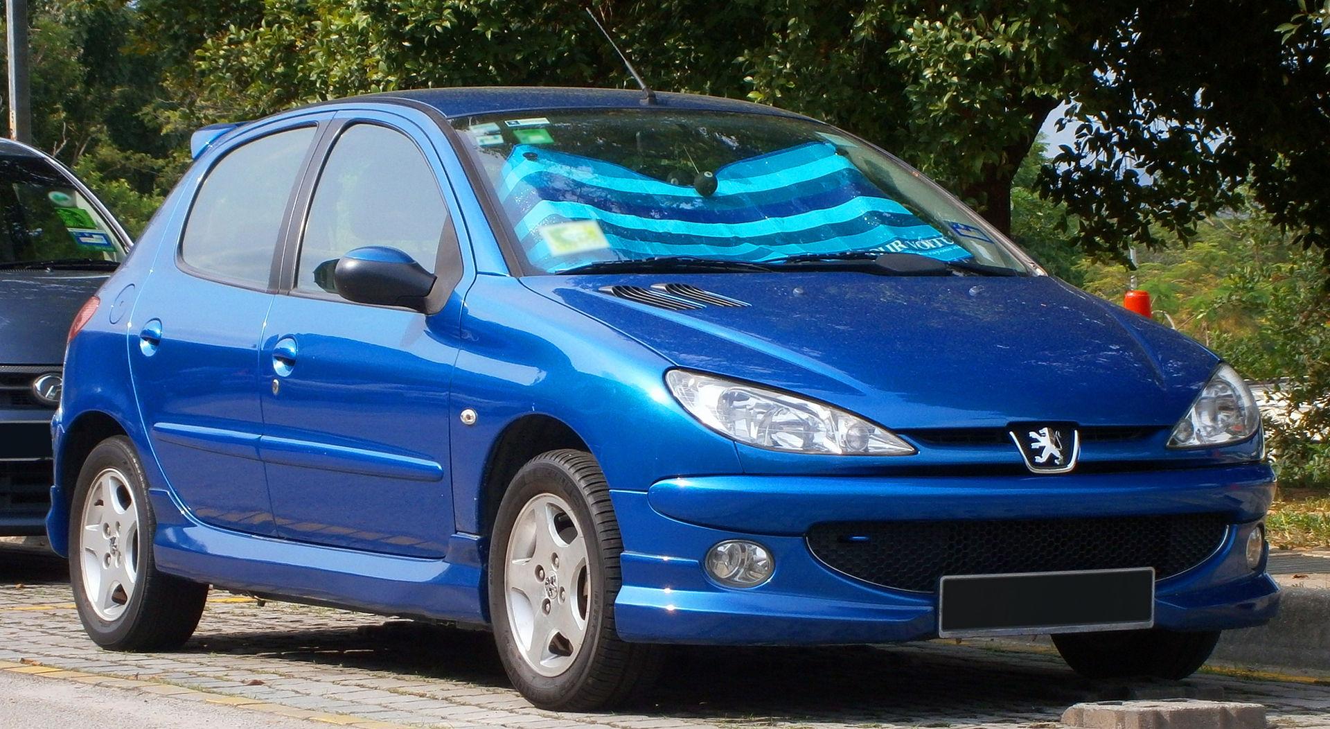 Peugeot 206 - Wikipedia