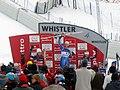 2008 Whistler Downhill Podium.jpg