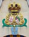 20090501100DR Wurzen Kursächsische Posthalterei Wappen.jpg