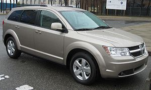 2009 Dodge Journey photographed in USA.