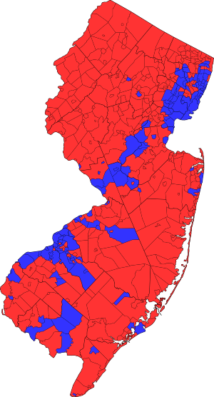 Results of the 2009 New Jersey gubernatorial e...