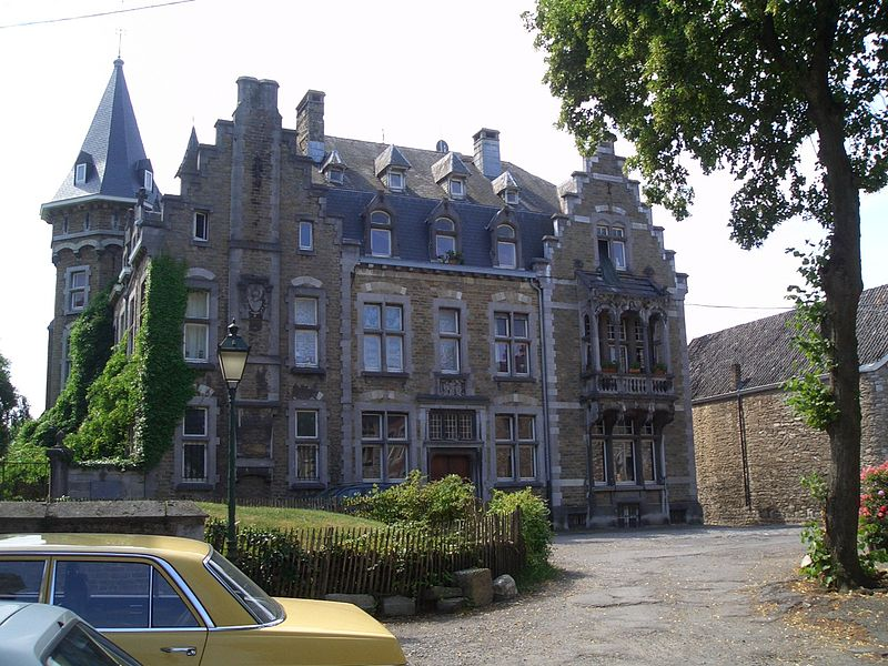 House at Place Saint-Georges in Limbourg, Belgium