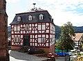 2011-09-12 Biedenkopf altes Rathaus Oberstadt Bei der Kirche.jpg