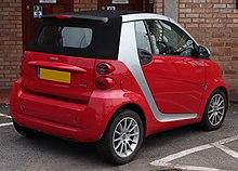 Smart Fortwo Pion Cabrio