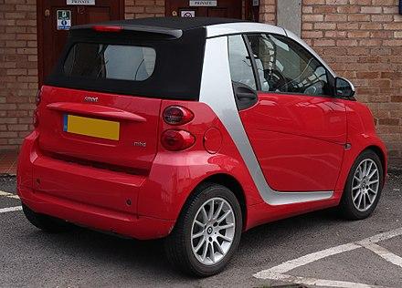 smart cabrio 2011