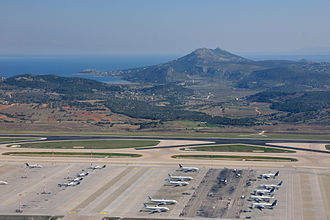 Athens International Airport - Apron overview